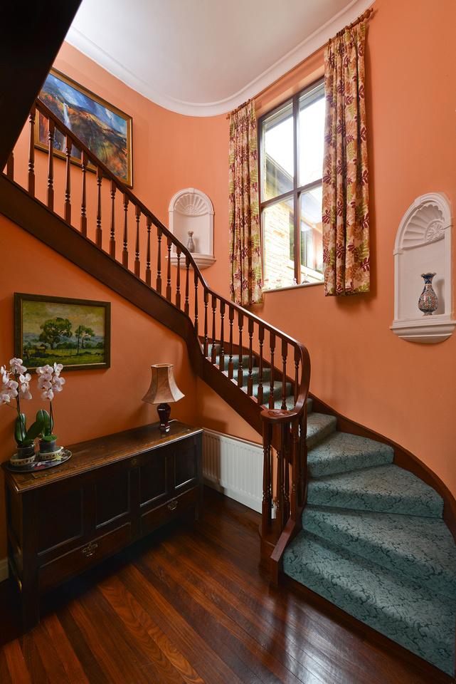 Architectural interior - stairwell
