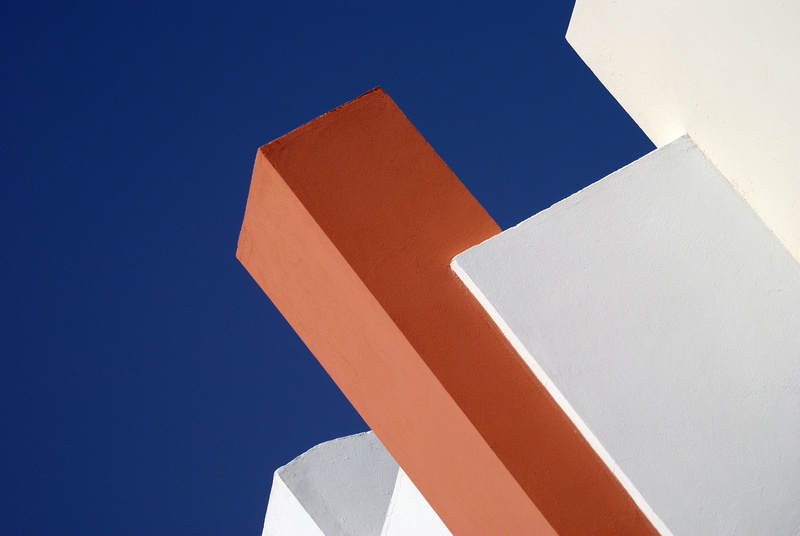 Architectural abstract.
