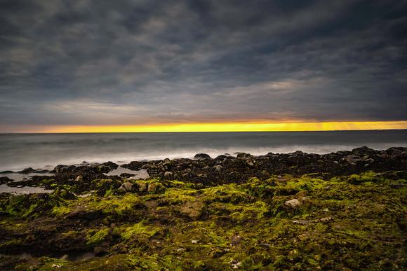 Salterbeck beach twilight