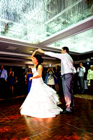 The first dance at Armathwaite Hall.
