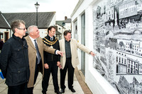 Artwork unveiled in Cockermouth